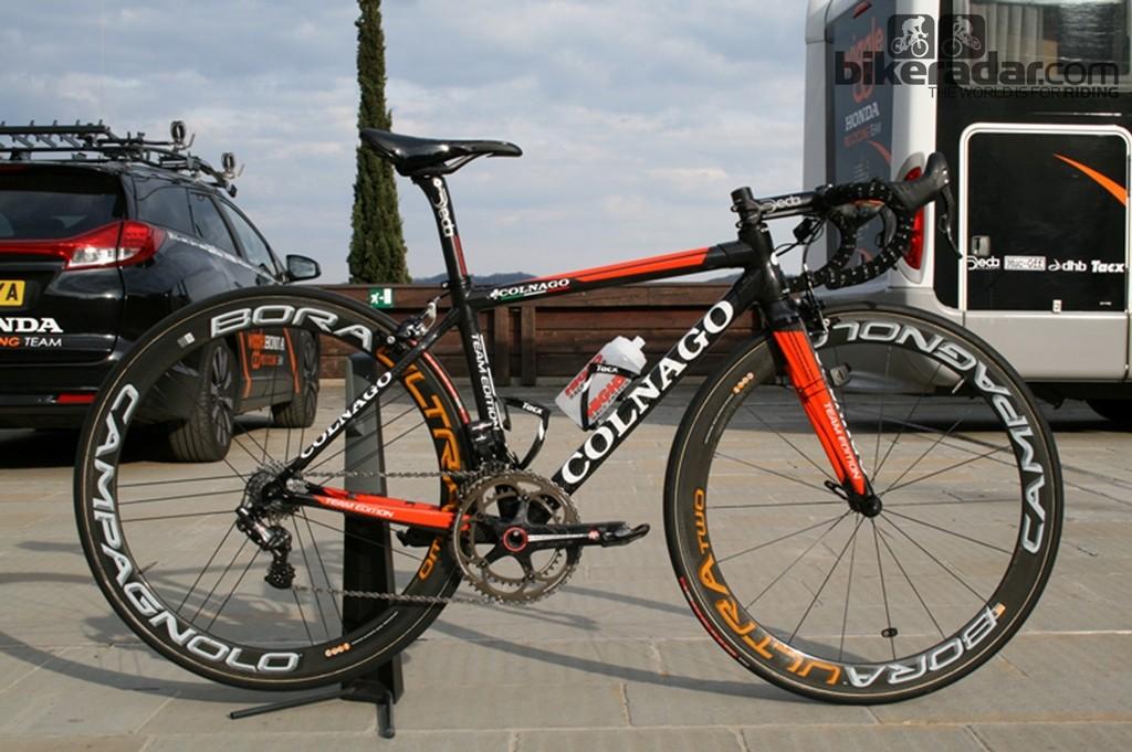 Laura Trott's (Wiggle-Honda) Colnago C59 Team Edition