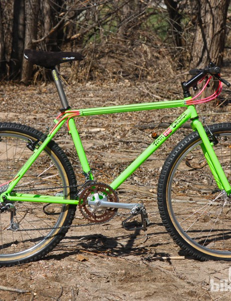 The 1990 Fat City Cycles Yo Eddy Team was a highly sought-after race steed back in its day. Though not the most comfortable ride, it was lauded for its efficiency and precision handling