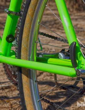 Aside from a few bends, both the chainstays and seatstays are constant diameter throughout their length