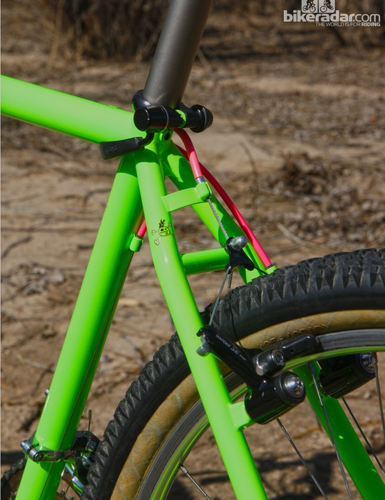 Unlike modern hardtail frames that put a high priority on ride comfort, the Yo Eddy Team was all about stiffness
