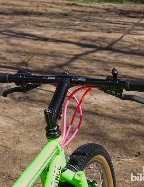 The Answer Hyperlite bars measure just 590mm wide