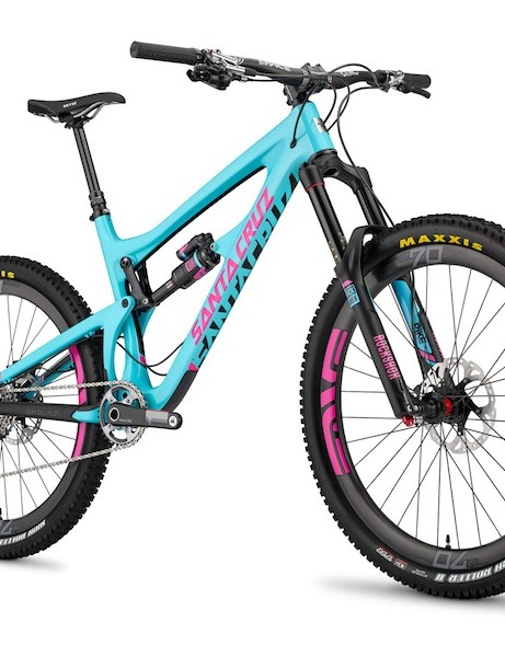 The redesigned Santa Cruz Nomad Carbon features 650B (27.5in) wheels, more suspension travel and slacker geometry than its predecessors