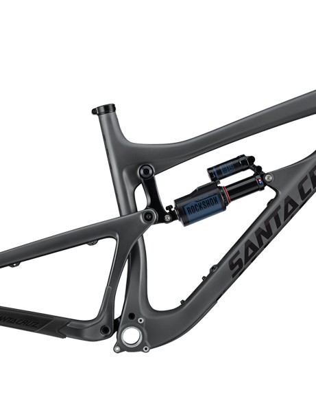 Claimed weight for a medium frame with shock is 6.2lb/12.3kg