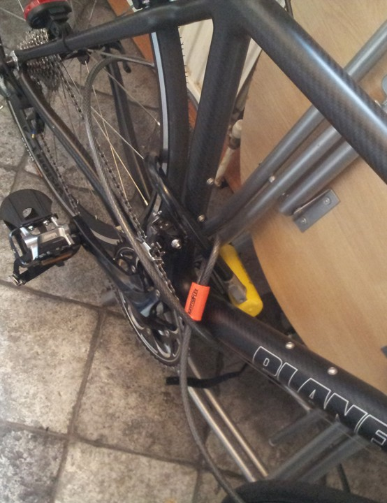 Keeping your bike inside the house is one of the best measures if possible