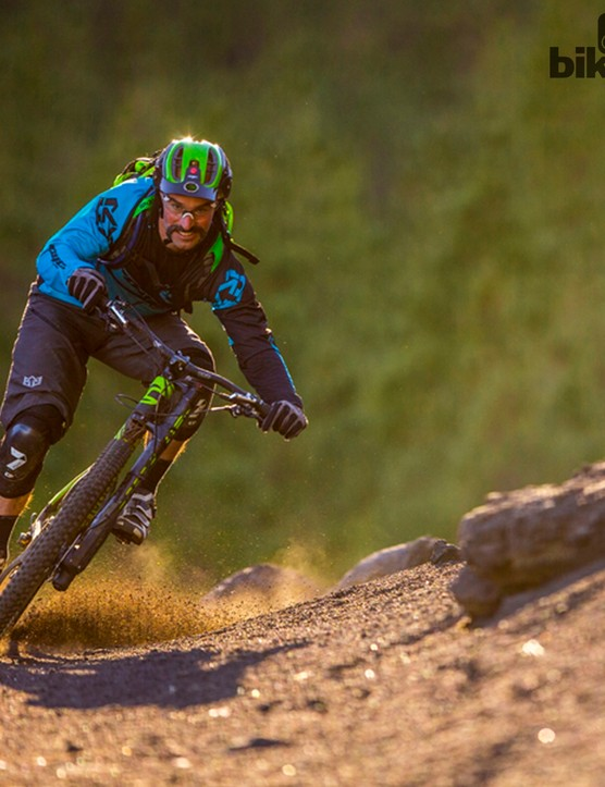 Cannondale's OverMountain enduro team have made the switch to the new 160mm travel Lefty Supermax fork, apart from SRAM-sponsored Clementz