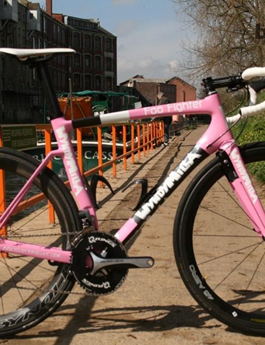 The WyndyMilla Foo Fighter: a very pink aero road bike