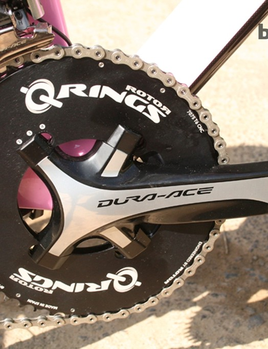 Rotor Q-Rings are just some of the very expensive components on the Foo Fighter – and those little bolt covers cost £45