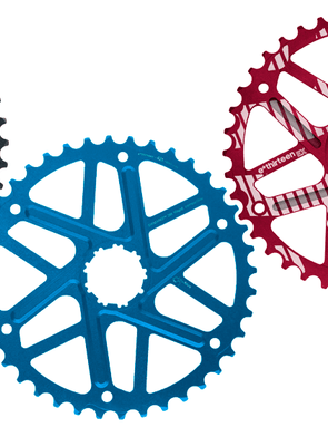 e*thirteen Extended Range EX cog - available in Black, Red and Blue