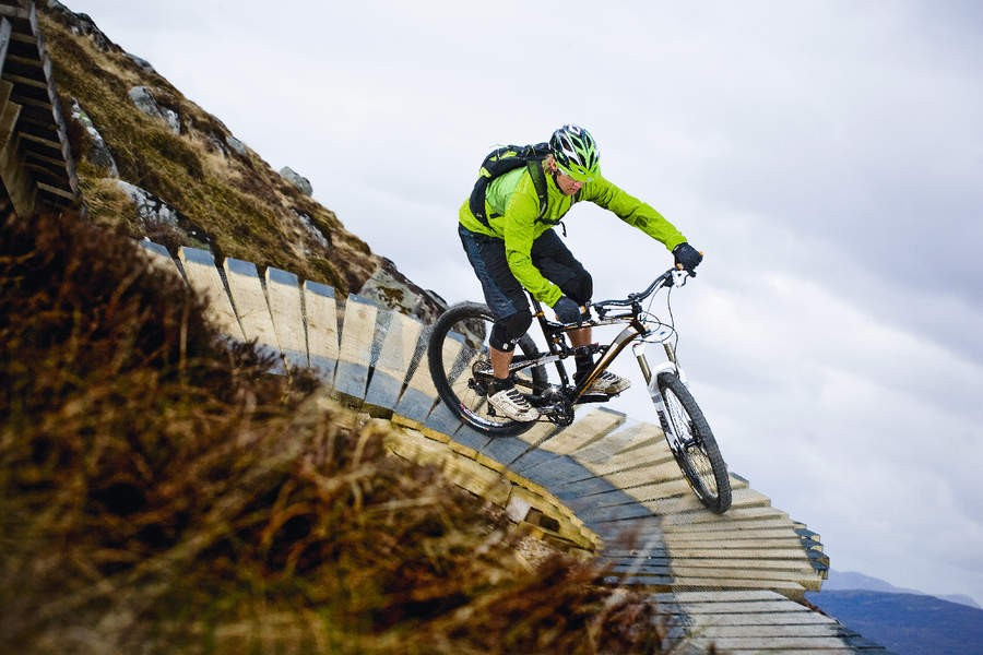 Developments in mountain bike technology makes more riders able to do stuff like this