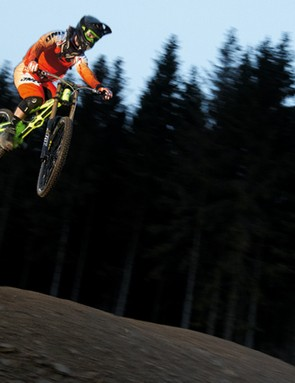 Orange has come up trumps with its latest downhill machine
