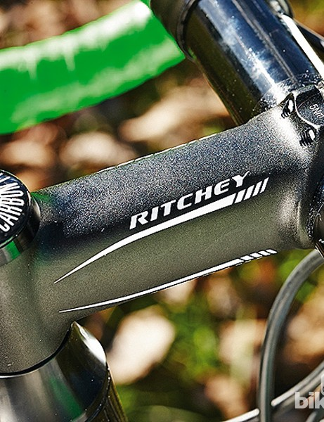 More branded kit in the form of a Ritchey cockpit