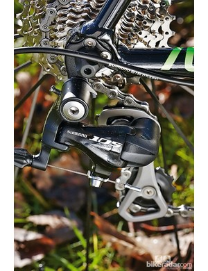 Shimano 105 is part of a high quality specification