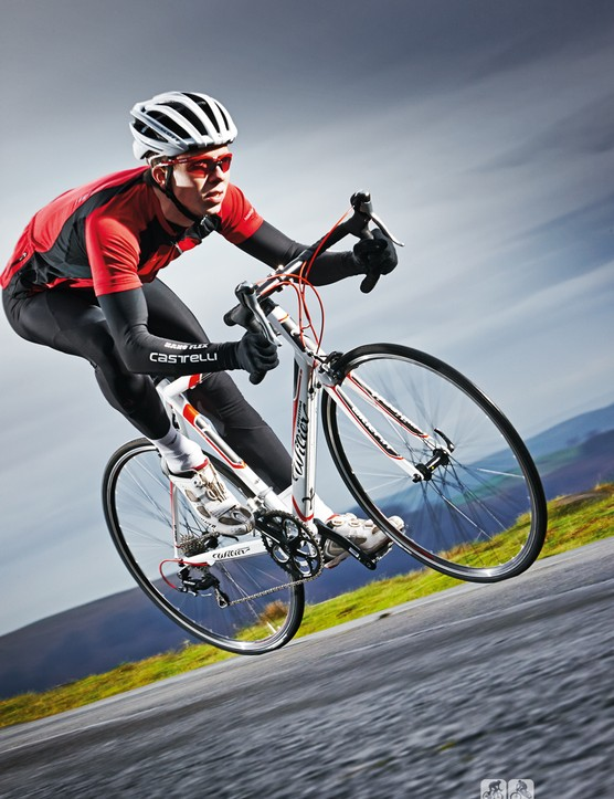 The Montegrappa's well designed frame and quality saddle mean  the ride is rarely harsh over most surfaces