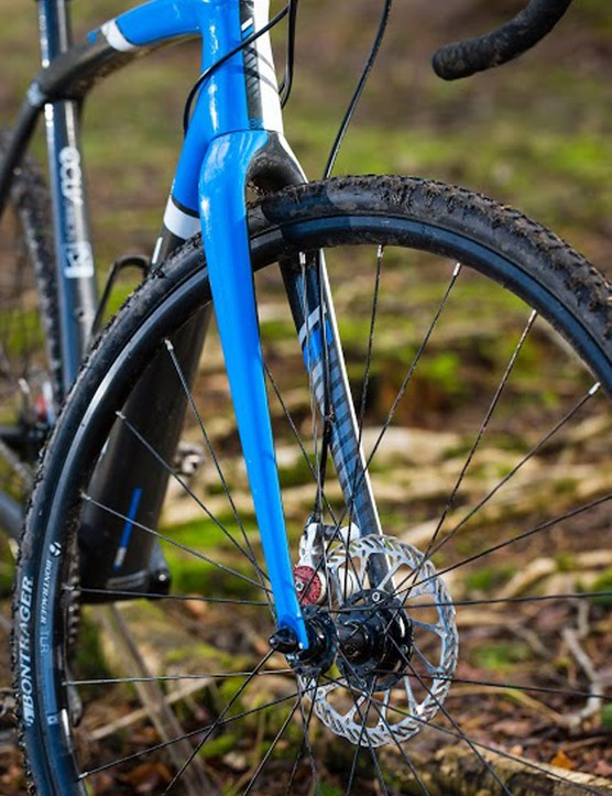 Wheels and tyres are tubeless-ready