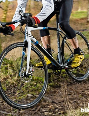 The Boone's top tube decoupler allows you to glide over trails with a smoothness that's initially hard to believe