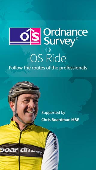 Chris Boardman, face of the new Ordnance Survey cycling app