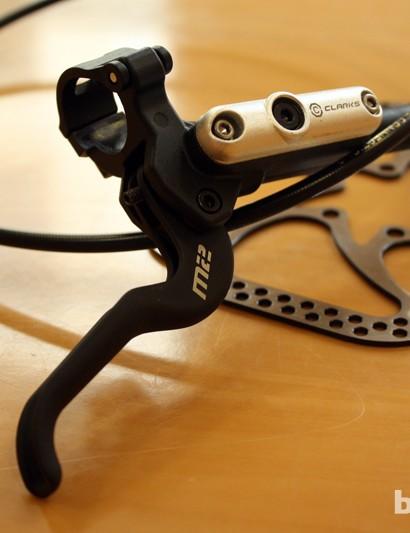 Clarks M2 hydraulic disc brakes