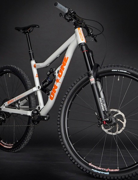 The On-One Codeine is a long-travel 29er trail bike