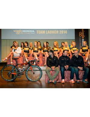 Wiggle-Honda was unveiled to the media in March