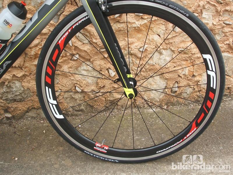 Newly revised FFWD F4R-C wheels