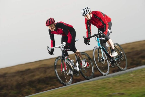 Disc brakes enhance the feeling of riding on the road