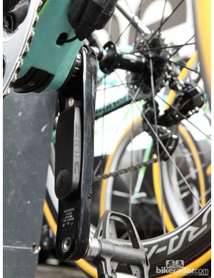 Pioneer's new power meter measures the output on each individual side