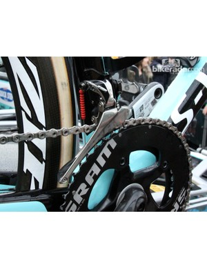SRAM Red 22 components and Gore Ride-On sealed derailleur cables and housing for Tom Boonen (Omega Pharma-QuickStep)