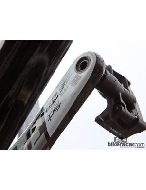 177.5mm-long Specialized carbon fiber crankarms for Tom Boonen (Omega Pharma-QuickStep)