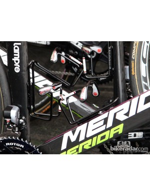 Elite Ciussi aluminum cages are a common sight around this time of year