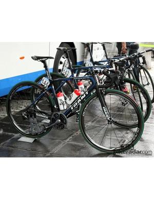 John Degenkolb's (Giant-Shimano) Giant Defy Advanced SL just before the start of Ronde van Vlaanderen