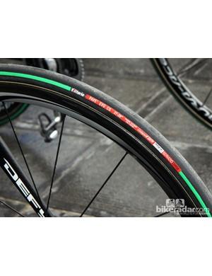 27mm-wide Vittoria Pavé Evo CG tubulars for Giant-Shimano rider John Degenkolb
