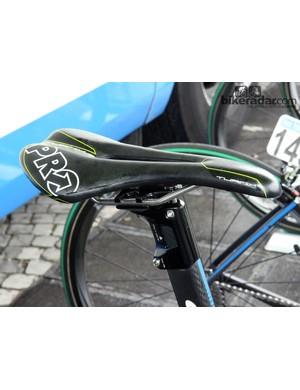 A PRO Turnix cut-out saddle for John Degenkolb (Giant-Shimano)