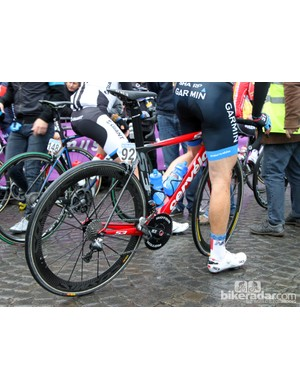 Garmin-Sharp used a mix of Cervélo bikes, including the aero S3 and the lighter R3