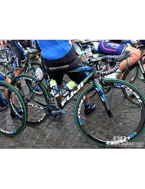 Netapp-Endura raced this year's Ronde van Vlaanderen on Fuji's Altamira SL