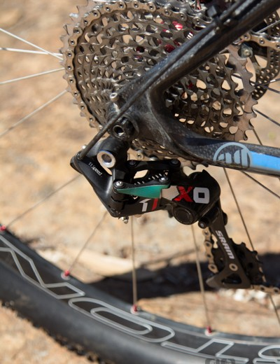 Cory Wallace loves his XX1 groupset
