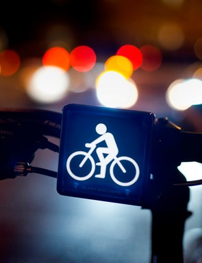 The front Brainy Bike Light