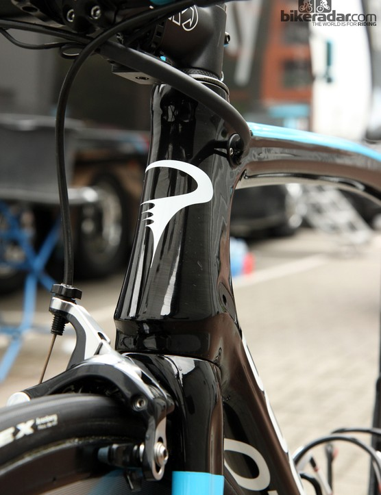 The head tube on Pinarello's Dogma 65.1 Think2 reminds us of the Moai statues on Easter Island