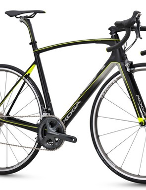 Internal cabling keeps lines smooth - and more aero - but also means the Kimera is Di2-ready