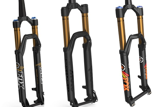 Fox has just released some details of its 2015 product line, including a redesigned 36 RC2, throwback decal kits and a limited release of blacked-out forks