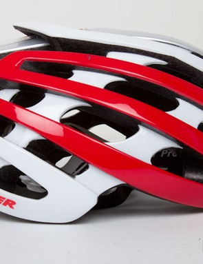 Hidden among the many wings and fins, the ICEdot sensor hardly protrudes on the Lazer Z1