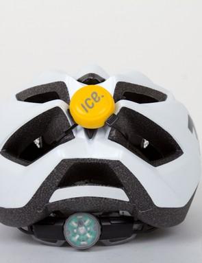 On the Met Crossover helmet we needed a few extra zip-ties because of the abundance of material between the vents