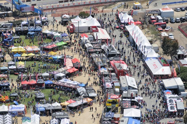 The Sea Otter Classic hosts hundreds of brands and thousands of riders every year