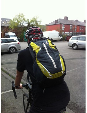 The good old backpack – no fiddly brackets to worry about