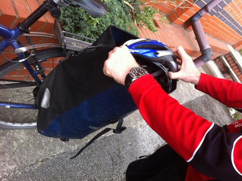 Panniers – letting the bike take the work
