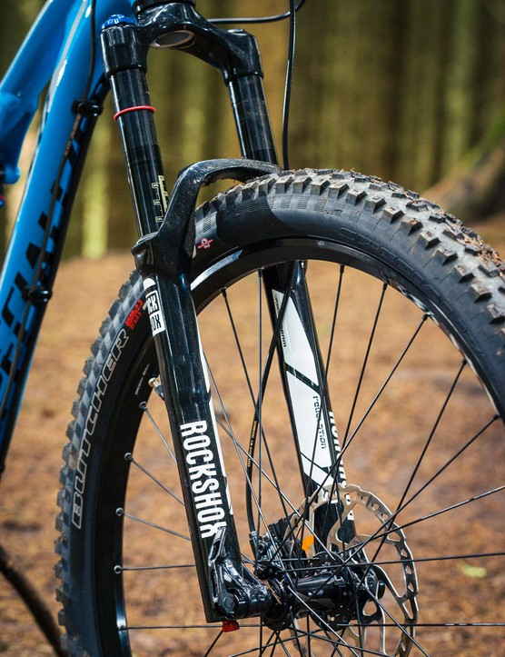 The RockShox Revelation is a good fork in most scenarios, though it lacks the mid-stroke support of the Pike