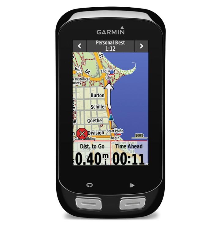 The Garmin Edge 1000 has a new 3in touchscreen