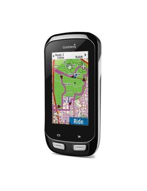 The Garmin Edge 1000 boasts the navigation features of the Edge Touring with more training features