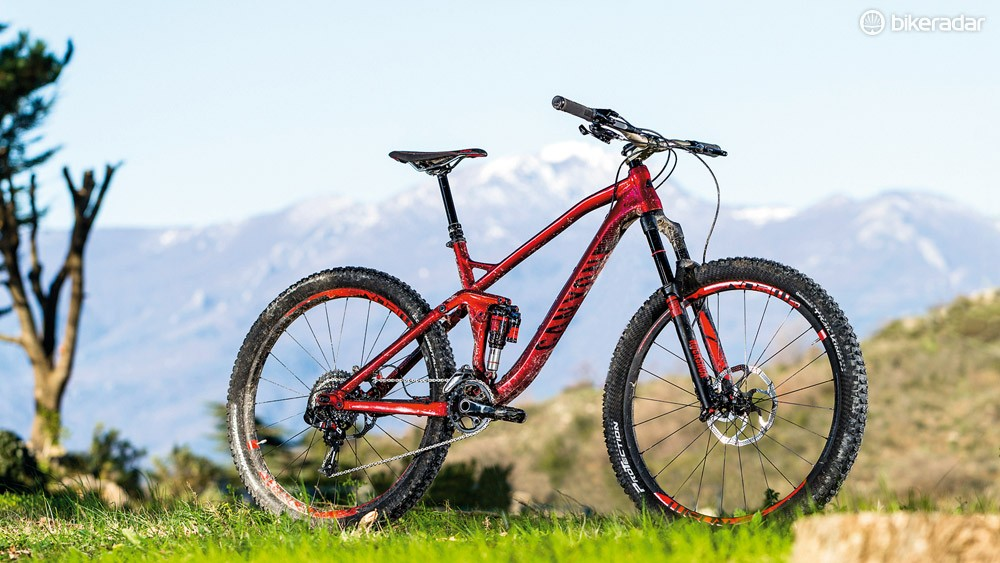The Canyon Spectral's frame is impressively stiff, light and practically detailed