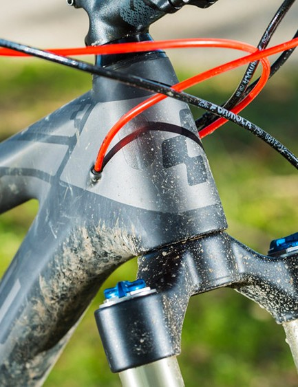 The Stereo has a top quality carbon frame for the price of an alloy bike