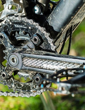 Low weight and neutral pedalling action make any climb a cinch
